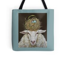 Judith the Sheep with nest Tote Bag