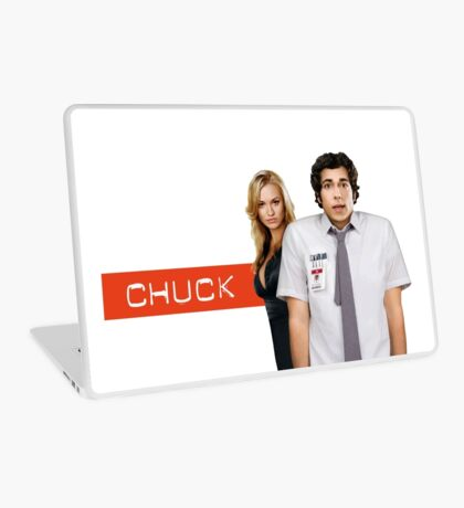 Chuck & Sarah: Vector Merch! Highest Quality! Laptop Skin