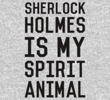 Sherlock Holmes_Black One Piece - Long Sleeve