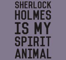 Sherlock Holmes_Black Kids Tee