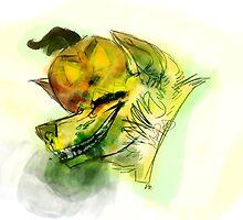 Jack O' Lantern Bite by Caniien