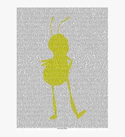 script bee movie Photographic Print