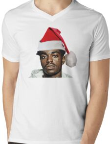 Kodak Black Santa Hat- Christmas Mens V-Neck T-Shirt