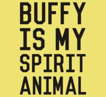 Buffy is my Spirit Animal_Black Kids Clothes