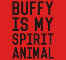 Buffy is my Spirit Animal_Black Kids Clothes