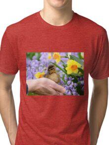 Loving Life! - Duckling NZ Tri-blend T-Shirt