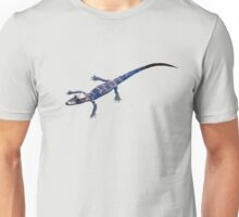 Alligator baby swimming  Unisex T-Shirt