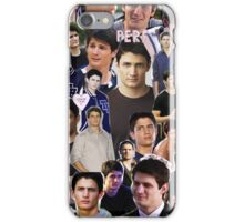 nathan scott collage iPhone Case/Skin