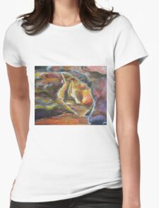 Entering Gaia Womens Fitted T-Shirt