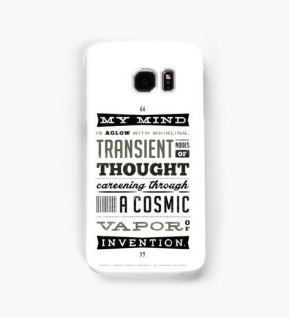 Blazing Saddles Quote Hedley Lamar Harvey Korman Mel Brooks (White T-shirt Version) Samsung Galaxy Case/Skin