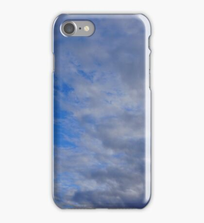 Partly Cloudy Skies iPhone Case/Skin