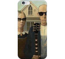 American Gothic Rock T Shirt iPhone Case/Skin