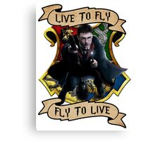 Fly to Live Canvas Print