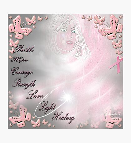 breast cancer awareness month. Photographic Print