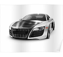 Audi Quattro R8 Turbo sports car art photo print Poster
