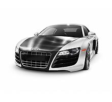 Audi Quattro R8 Turbo sports car art photo print Photographic Print