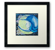 The night,an allegory Framed Print