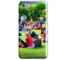 Saturday in the Park, Dublin iPhone Case/Skin