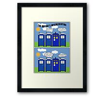 The Doctor's Miscalculation Framed Print