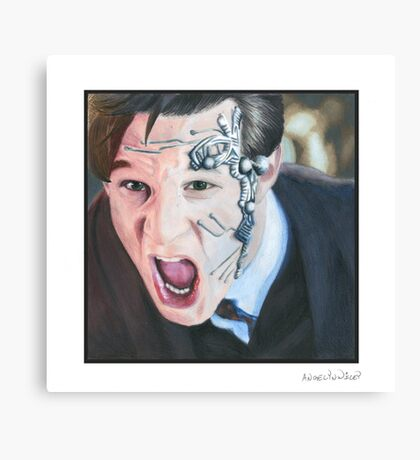 Mister Clever Canvas Print