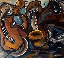 Black Cat Jazz by galerievie