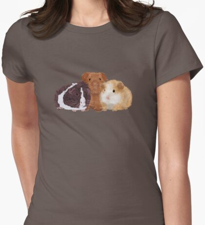 Guinea Pigs Womens Fitted T-Shirt