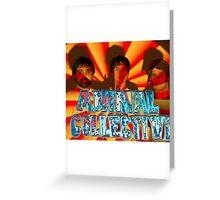 animal collective Greeting Card