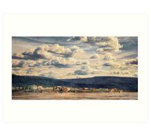 Dawson City Art Print