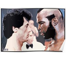 Rocky vs Clubber Lang Poster