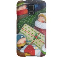 Christmas Rush Samsung Galaxy Case/Skin