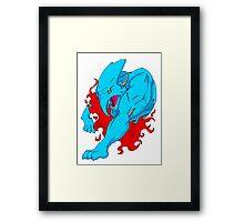 Blue Saber Framed Print