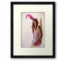 Before The Show  Framed Print
