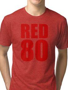 Colin Kaepernick - RED 80 Tri-blend T-Shirt