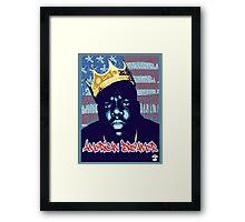 Notorious B.I.G. [American Dreamer] - Cloud Nine Framed Print