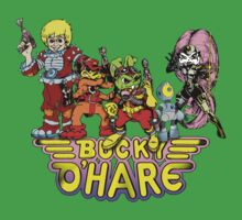 Bucky O'Hare - Group Logo - Color T-Shirt