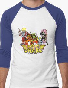 Bucky O'Hare - Group Logo - Color Men's Baseball ¾ T-Shirt