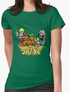 Bucky O'Hare - Group Logo - Color Womens Fitted T-Shirt