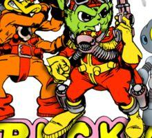 Bucky O'Hare - Group Logo - Color Sticker