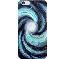 Swirling Galaxy in Outer Space  iPhone Case/Skin