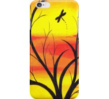 Fire Sunset Sky  iPhone Case/Skin