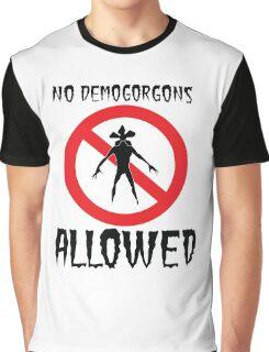 Stranger Things Demogorgon Graphic T-Shirt