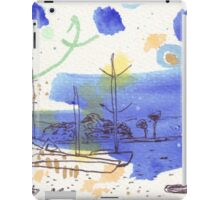 Two Kayaks on the Bay iPad Case/Skin