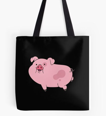 Waddles | Gravity Falls | Cute Pig Print  Tote Bag