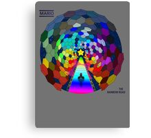 The rainbow road Canvas Print