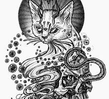 Demonic Cat by lmfaoKiana