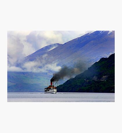 Steamship on the Lake Photographic Print
