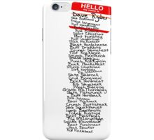 Have You Signed Sherri's Birthday Card? iPhone Case/Skin