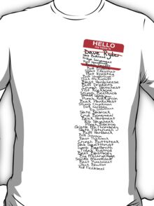 Have You Signed Sherri's Birthday Card? T-Shirt