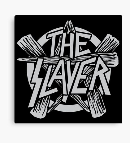 The Slayer Canvas Print