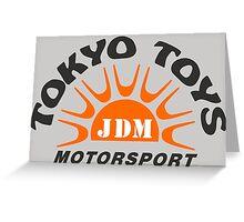 Tokyo Toys JDM Motorsport Greeting Card